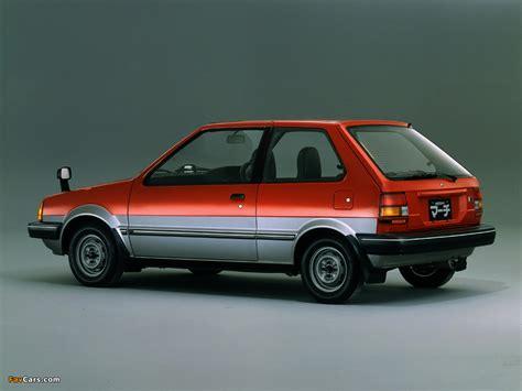 Nissan March 3-door (K10) 1982–91 wallpapers (1024x768)