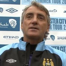 To get fans in the mood on matchdays, roberto mancini, vincent kompany, joe hart and james milner have all recorded tram announcements that will be used on metrolink's new east manchester line connecting etihad stadium with the center of the … Mind games meddler Roberto Mancini makes Manchester United favourites ahead of City derby ...