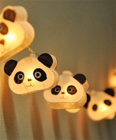 guirlande lumineuse pour chambre bébé panda addict babayaga magazine