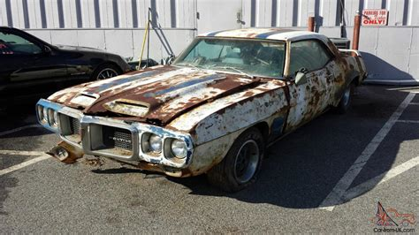 Project For Sale by Real 1969 Firebird Trans Am Ram Air Iii Project With No