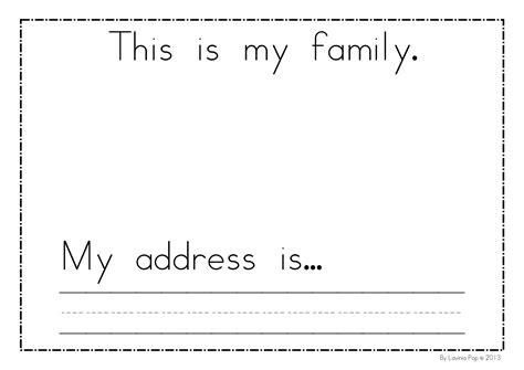 family worksheets for preschoolers pdf homeshealth info