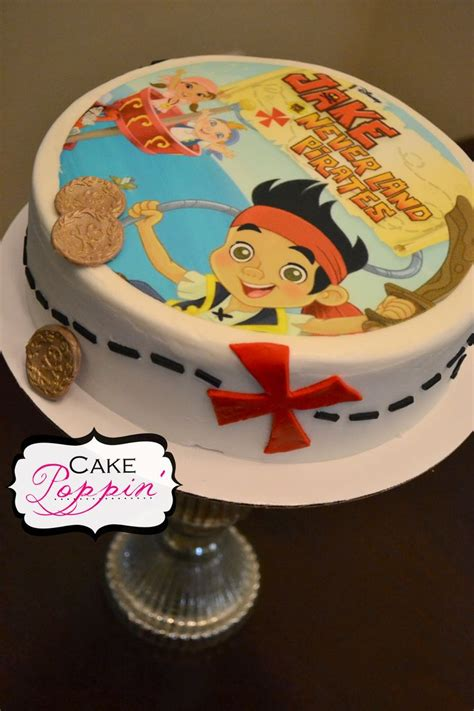 decoration  cake jake   neverland pirates cake ideas
