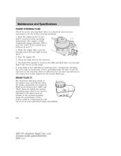type power steering fluid recommended   ford
