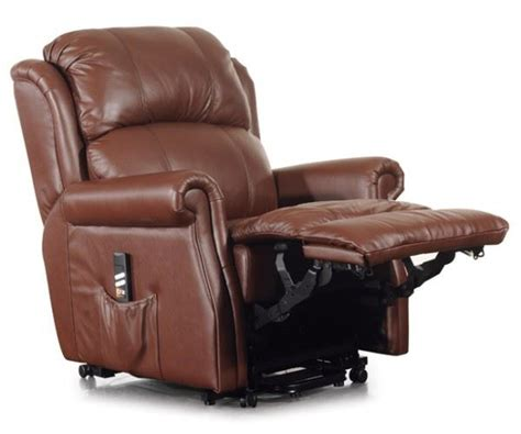 montana dual motor italian leather electric riser recliner