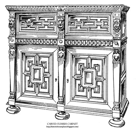 examples  renaissance furniture  belgium historic