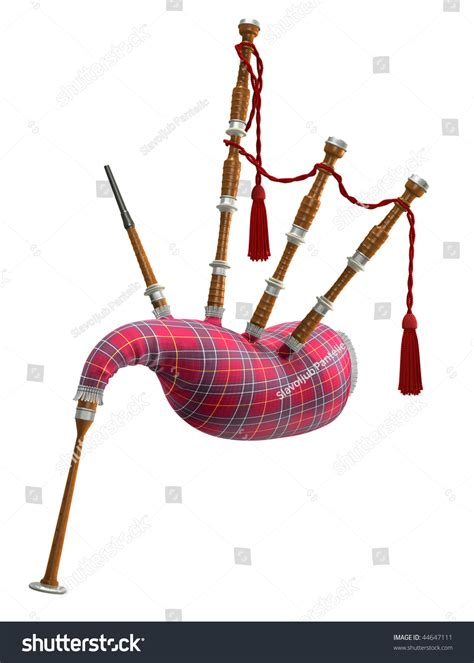 Bagpipes Stock Illustration 44647111 Shutterstock