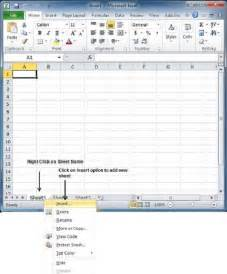 How to Insert New Worksheet Excel 2010