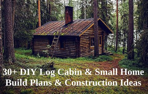 30+ Different Diy Cabin Plans (& Earth Bag Houses) And Ideas