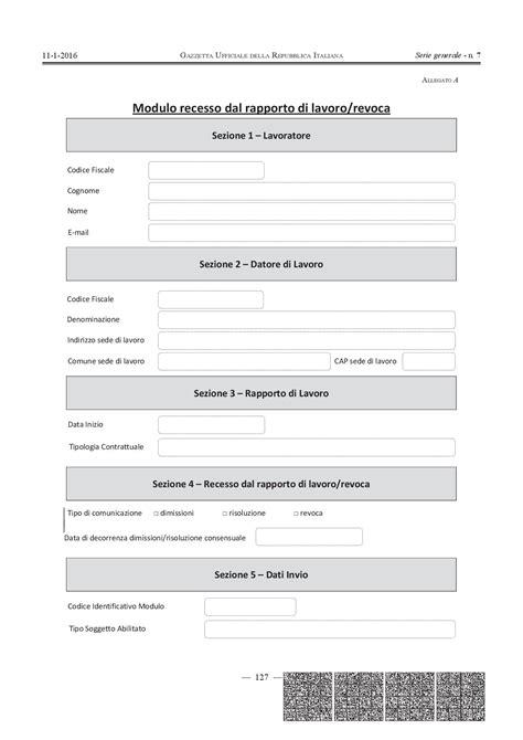 Lettere Dimissioni Volontarie by Dimissioni 2017 Procedura Fac Simile Lettera