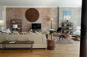Exposed brick wall designs giving great look to modern