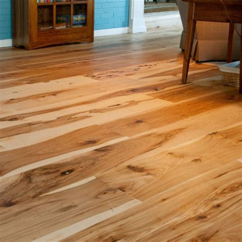 Harvest Hickory Flooring ? Mountain Lumber Company