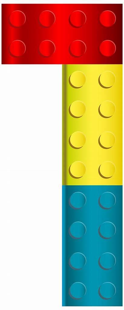 Lego Clipart Border Number Transparent Clip Clipartmag