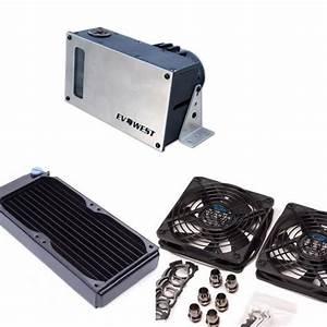 Complete D5 Liquid Cooling Kit  Ev West