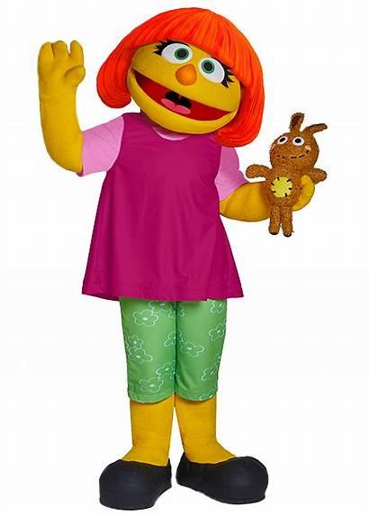 Sesame Street Julia Beaches Caribbean Characters Resorts