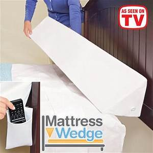 Mattress wedge queen size as seen on tv for Bed pillow wedge as seen on tv