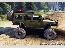 Скачать мод на автомобиль Jeep Wrangler для Spin Tires