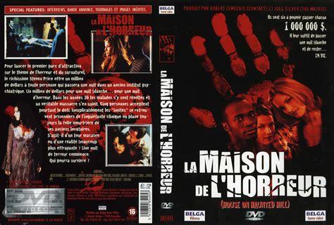jaquette dvd de la maison de l horreur v2 cin 233 ma