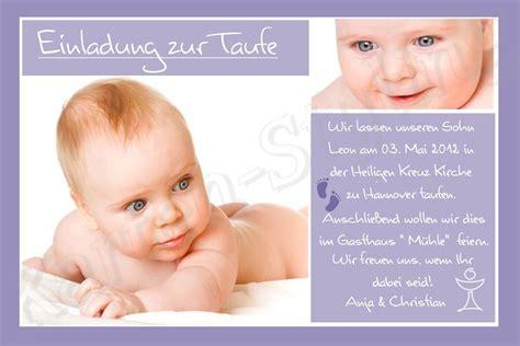 foto einladung danksagung karte taufe baby