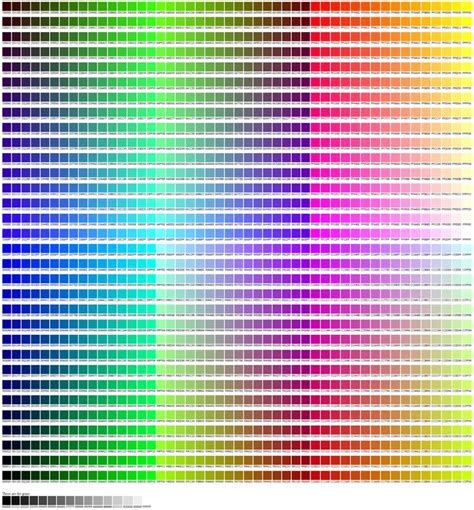 find hex color best hex colour chart orginal image will zoom so you can