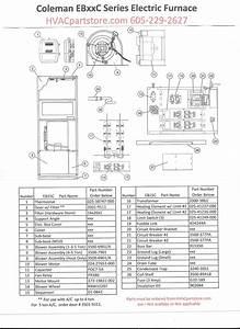Bw 9667  Eb15b Electric Furnace Wiring Diagrams Free Diagram