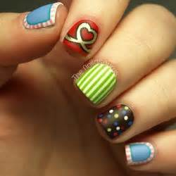 Easy nail art designs for short nails to do at home