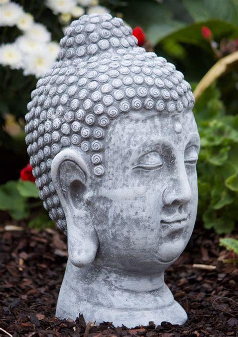 Garten Deko Buddha by Steinfigur Buddha Shiva Kopf Frostfest Gartenfigur Deko