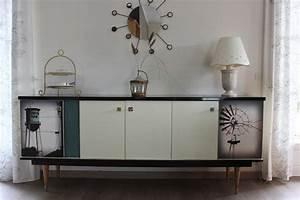 Buffet Enfilade Vintage : buffet bas enfilade style vintage loft envie vintage meubles ~ Teatrodelosmanantiales.com Idées de Décoration