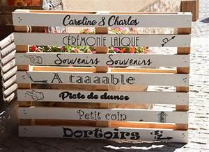 Plan De Table Palette : notre d co de mariage en bois mademoiselle dentelle ~ Dode.kayakingforconservation.com Idées de Décoration