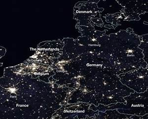 Gallery of How Satellite Images of the Earth at Night Help ...