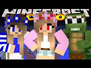 Kelly and Carly Little Evil Minecraft Skin