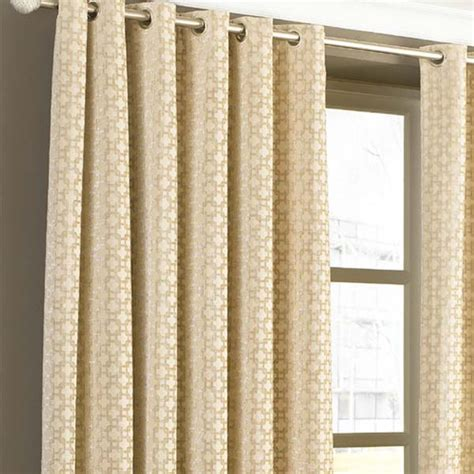 paoletti belmont chenille jacquard woven lined eyelet curtains