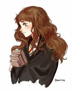 Hermione Granger by Devil-Ink   Harry Potter Fan Art ...