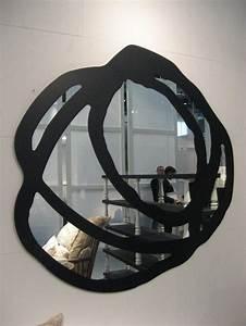 Miroir Cadre Noir : 41 id es pour un miroir design et moderne ~ Teatrodelosmanantiales.com Idées de Décoration