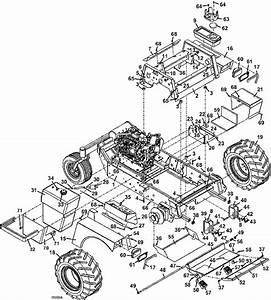Grasshopper 729g2 Tractor Assembly 2006 Mower Parts