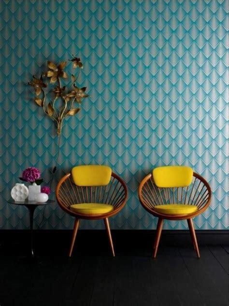 chaise pour chambre à coucher le papier peint géométrique en 50 photos avec idéеs