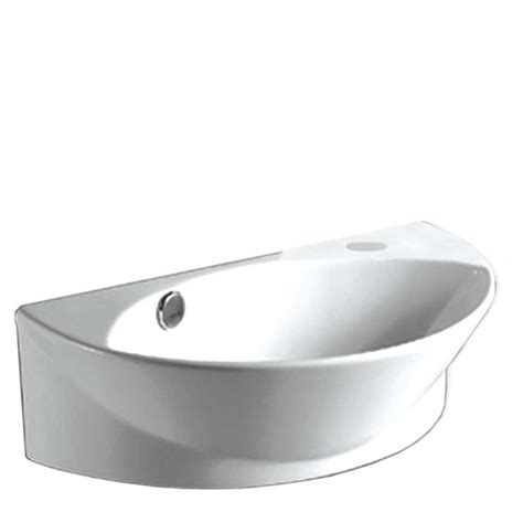 home depot bathroom sinks whitehaus collection isabella wall mounted bathroom sink