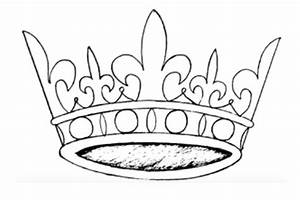 How To Draw A Crown  Step By Step Easy  Princess  With Color