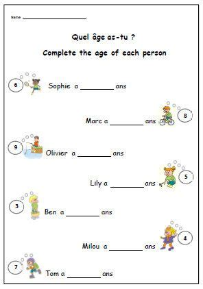 french worksheet about birthdays primary printable for ks1