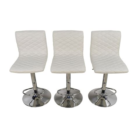 Stool Buy 74 White Quilted Bar Stool Chairs Chairs
