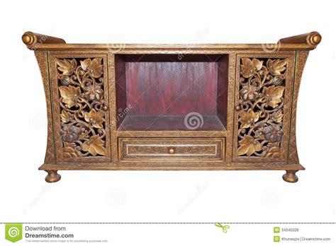 vieux bureau vieux blanc d 39 isolement de meubles par bureau en bois