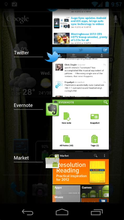 multitasking apps for android how multitasking really works on android and ios page 2