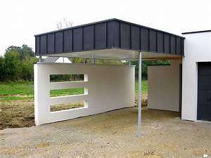 Faire Un Carport : carport bois vannes ~ Premium-room.com Idées de Décoration