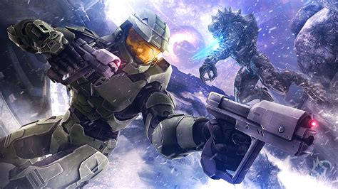 Wallpaper Master Chief Halo 3 4k Games 12317
