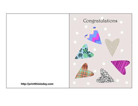 printable wedding congratulations cards
