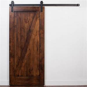 rustica hardware stain and glaze unassembled z barn door With 38 inch barn door