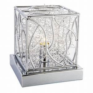 Lampe A Poser Contemporaine : lampe design poser en chrome pour le salon ~ Teatrodelosmanantiales.com Idées de Décoration