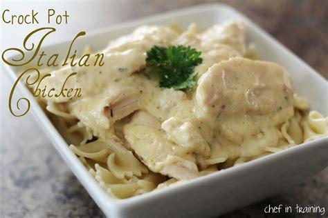 easy chicken breast crock pot recipes crock pot italian chicken chef in training