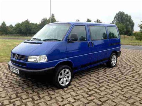 vw t4 caravelle volkswagen 2003 vw t4 caravelle swb nose 9 seats