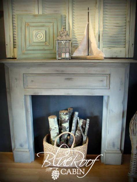 ideas  faux fireplace mantels  pinterest