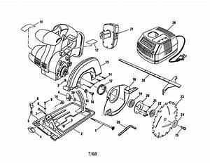 Looking For Craftsman Model 315114260 Circular Saw Repair